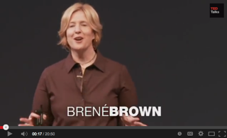 Brené Brown TedX Houston